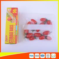 Household Zip Lock Plastic Food Storage Bags Recyclable For Keeping Fresh Manufactures