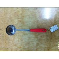 Stainless steel  soup spoon with silicon handle Manufactures