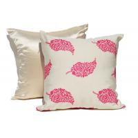 Embroidered Decorative Cushion Covers 100% Cotton Couch Throw Pillows Manufactures