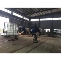 Single Door Glass Laminated Glass Autoclave With U Type Forced Convection Structure And Inconel Tubular Heaters Manufactures