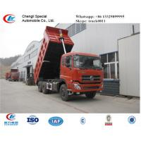 hot sale dongfeng 30tons dalishen sand and coal transported vehicle, best price dongfeng 40tons dump tipper truck Manufactures