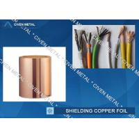 Roll Size ED Copper Foil For Shielding, Made Of Red Copper Manufactures