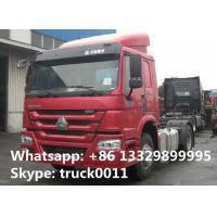 Quality hot sale SINOTRUK HOWO 4X2 290HP Tractor Truck, HOWO 290hp tractor head truck for sale
