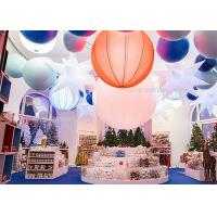 1.6M  Inflatable Lighting Decoration 240W , Led Hanging Outdoor Christmas Snow Globe Lights Manufactures