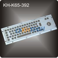 Metal Keyboard with trackball Manufactures