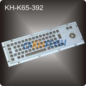 Metal trackball industrial keyboard Manufactures