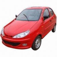 China Battery-operated electric car with EEC marks, both ideal for family and taxi use on sale
