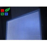 Foldable Illuminated LED Fabric Light Box Maximum 3x6m Size For Store Interior Decoration Manufactures