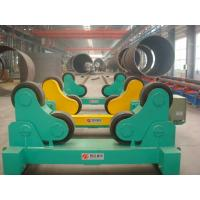 China Automatic Welding Turning Roll / Pipe Rollers PU Wheel For Vessel on sale