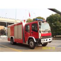 Quality Max Power 107KW Fire Department Utility Vehicles , Stroboscope Lamps Fire for sale