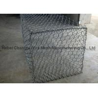 China High Tensile Strength Gabion Wire Mesh Oxidation Resistant For Stone Retaining Wall Cage on sale