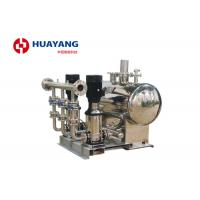 1 Hp 5 Hp Domestic Water Booster Pump Systems Fixed Speed Intelligent Manufactures