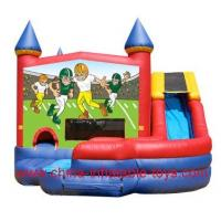 Continuous Air Supplying Inflatable Amusement Park Combination PVC For Children Manufactures