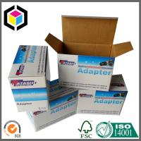 Eco Friendly Matte Laminated Corrugated Cardboard Packaging Box; CMYK Color Print Box Manufactures