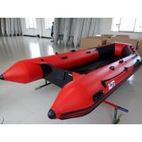 Neoprene / Hypalon 6 Man Inflatable Boat Small Inflatable Kayak With Plywood Floor Manufactures