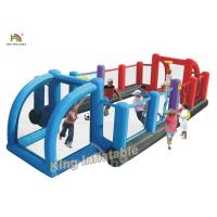 Buy cheap Commercial Inflatable Sports Games Double Color Giant Inflatable Soccer Filed from wholesalers