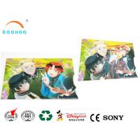 Moving Change Effect Lenticular Printing Services Postcard Sticker Manufactures