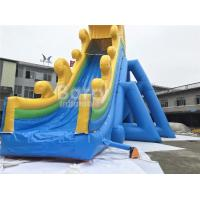 Custom Made PVC Tarpaulin Commercial Giant Inflatable Slide With 20 Years Experience‎ Manufactures