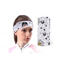 Blue Color Tube  Multifunctional Headwear Microfiber Polyester Manufactures