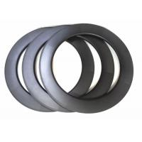 25MM Width Carbon Replacement Bicycle Rims 700C 88MM U Shape With Basalt Brake Manufactures