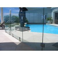Baby Guard Rail DIY Glass Pool Fencing With Tempered Glass Gate Manufactures