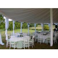 25x40m Fireproof Aluminum Structure White Wedding Event , Outdoor Party Tent Manufactures