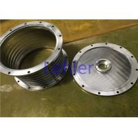 Good Roundness Basket Mill Double Screens With Harden Chrome Surface Manufactures