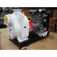 China Diesel engine driven self priming water pump for water on sale