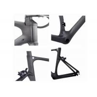 Quality High Stiff UD Carbon Road Bike Frame 700C BB86 Toray 700 With Internal Cable Routing for sale