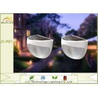 Wall Mounted Wireless 20ILM IP55 Solar Motion Detector Lights For Garden Manufactures