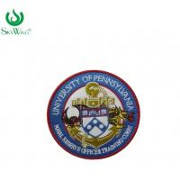 China Professional Custom Made Embroidered Patches Smooth Edge Nickel - Free on sale