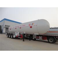New mobile filling tank for cooking propane gas bullet station 60m3lpg storage tank 60cbm lpg transport trailer 3 axles Manufactures