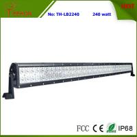 240W 41.5 Inch Double Row off-Road LED Light Bar for Trailer, Truck, Jeep and ATV Manufactures