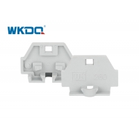 260-361 PA66 Nylon Gray End Cover for Mini Terminals to isolate units Manufactures