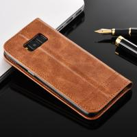 Quality Wallet Flip Stand Samsung S8 Plus Leather Case Vintage Classic Design for sale
