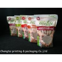 Food Grade Flexible Printed Stand Up Pouch With Zipper For Rice Food
