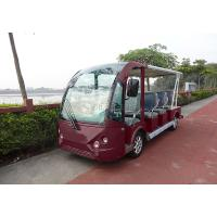 Red Electric Shuttle Bus Electric Car Tour JH-Y06 Model Parameter Manufactures