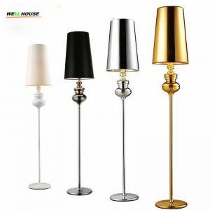 Hot sale new modern Floor lamp Villas bedside standing lamps floor lamps for living room bedroom 5 colors lamparas de pi Manufactures