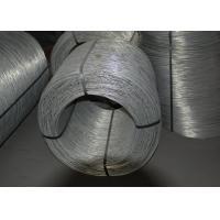 Dia. 1.20mm - 3.50mm Electro Galvanized Wire , Zinc Coated Steel Wire Manufactures
