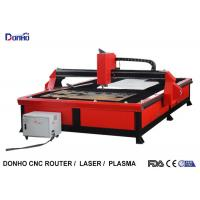 Red Color Plasma Metal Cutting Machine with 2000 mm x 3000 mm Working Size Manufactures