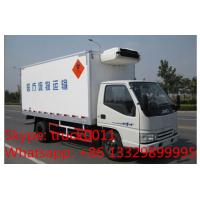 T-King gasoline and CNG refrigerated truck for sale, Hot sale T-king brand gasoline-CNG cold room truck for frozen food Manufactures