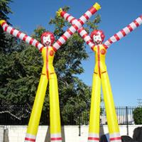 PVC Color Inflatable Dancer , 6m Both Legs Inflatable Marketing Products Manufactures