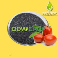 DOWCROP HOT SALE HIGH QUALITY POTASSIUM HUMATE FLAKES BLACK FLAKES 100% WATER SOLUBLE FERTILIZER ORGANIC Manufactures