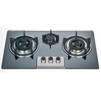 Big Fire Bulit In Three Burner Gas Stove Enamel Pan Support 710 * 400mm Manufactures