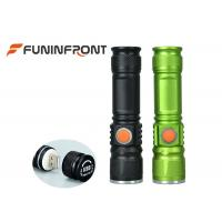 1000LMs USB Rechargeable  T6 Zoom LED Torch Flashlight Adjustable Focus Manufactures