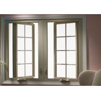 Quality Horizontal Opening Side Hung House Casement Windows For Constructional System for sale