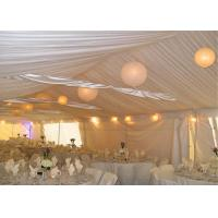 Quality 1000 People Cheap Aluminum Alloy Waterproof And Fireproof Clear Wedding Canopy Tent for sale
