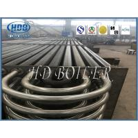 Sprial Double H Finned Tube Heat Exchanger Energy Saving For Boiler Parts Manufactures