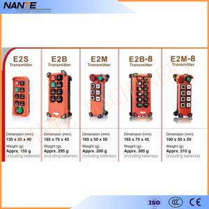 Single Speed Wireless Hoist Remote Control / Industrial Wireless Remote Controller Manufactures
