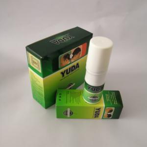 Yuda hair growing best herbal serum 60ml*3 bottle Yuda hair growth spray , hair loss treatment Manufactures